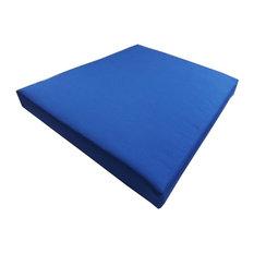 Cushion Pros Sunbrella Tapered Barstool Seat Cushion Jockey Red Outdoor Cushions And Pillows