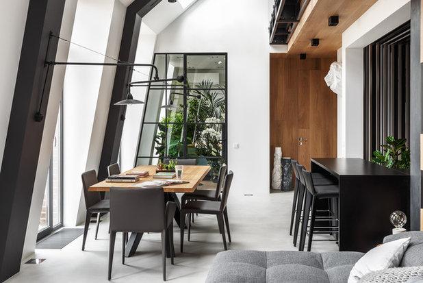 Contemporary Dining Room by DesignRocks