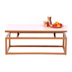 - Rosa Marble Coffee Table - Coffee Tables