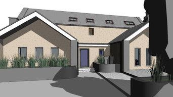Ballynakill House 3D View