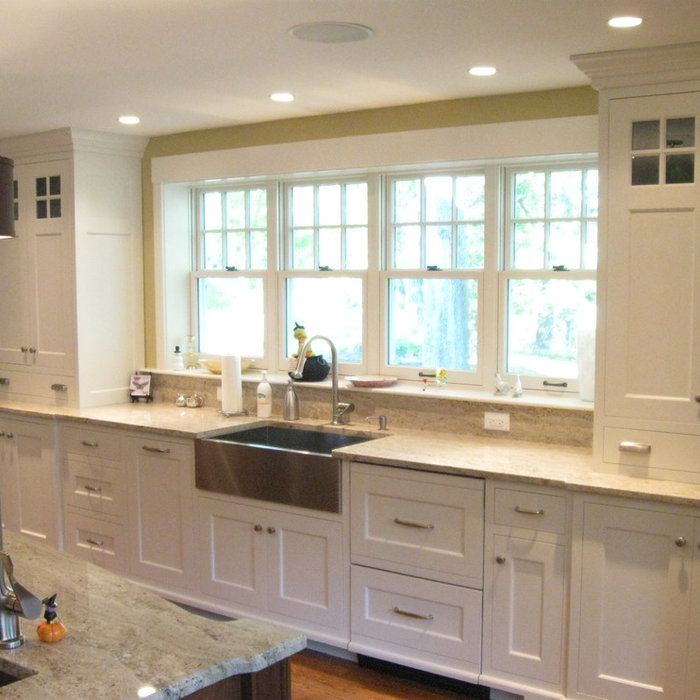 Farmhouse Kitchen Addition- Winchester, MA
