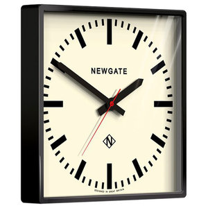 Newgate Underpass Wall Clock, Black
