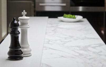 Kitchen Counters: High-Tech Solid Surfaces Make Maintenance Easy