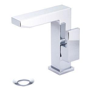 Single Handle Lavatory Faucet, Polished Chrome