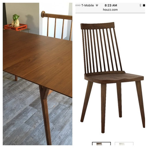 Not Matching Wood Stains For Dining Room