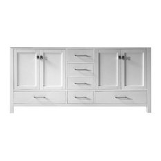 "Caroline Avenue 72"" Cabinet Only,White"
