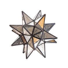 """Star Antique Mirror, 10"""""""