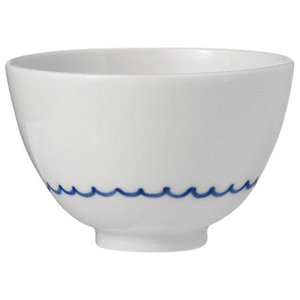 Anne Black Kyst Bowl, Blue Waves, Large