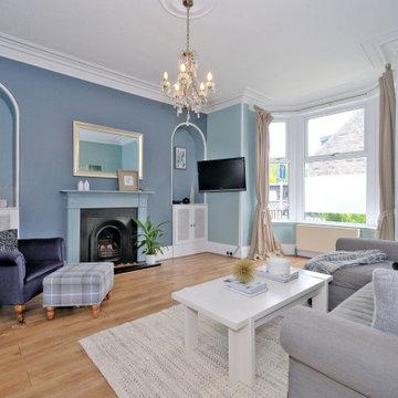Living room alternative 1 After