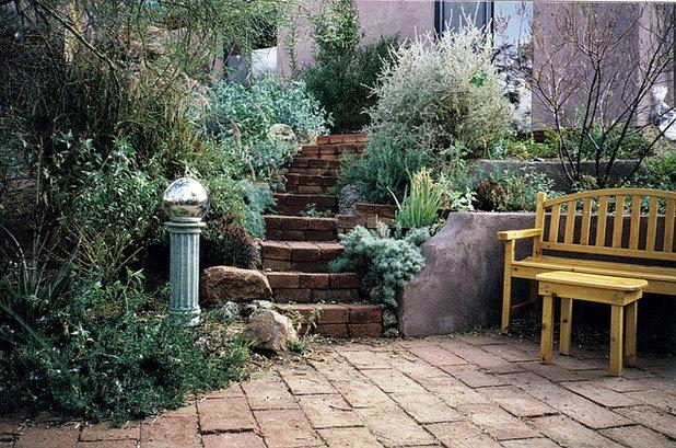 Rustic Garden by JSL Landscape Design Build