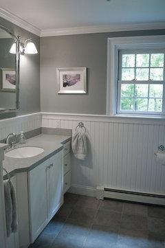 beadboard can work many bathrooms have this - Bead Board Bathroom