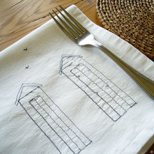 Contemporary Napkins by Charlotte Macey