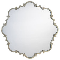 Saint Albans Mirror, Antique Silver