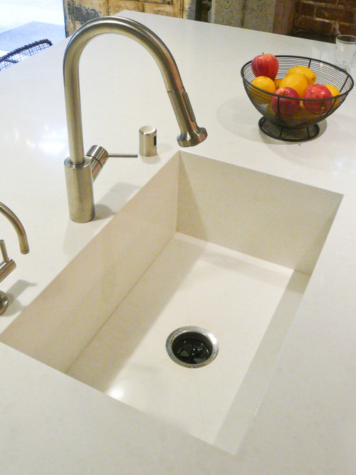 Quartz Stone Kitchen Sink : Integrated Sink Design Ideas & Remodel Pictures Houzz