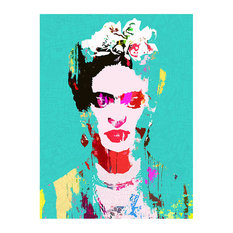 Frida Framed Fine Art Print by Fimbis, 48x65 cm