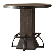 Hillsdale Furniture - Hillsdale Jennings Round Counter Height Dining Table - Indoor Pub and Bistro Tables