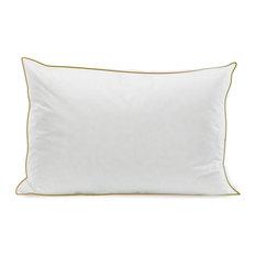 Luxury White Duck Down Organic Cotton Pillow