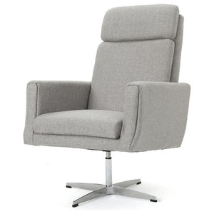 Zerk Swivel Arm Chair Transitional Armchairs And