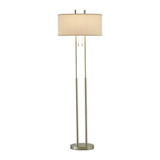 Transitional Floor Lamps Houzz