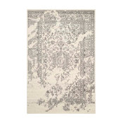 Safavieh Manar Woven Rug, Ivory and Silver, 9'x12'