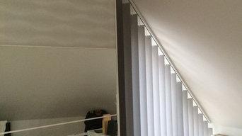 Schräge Vertikalanlagen unterm Dach