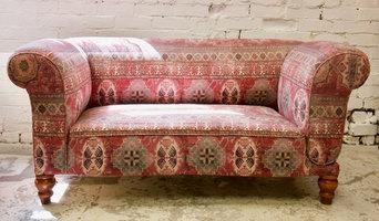 Antique Drop Arm Sofa Restoration Commission