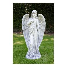 "Peaceful Angel Statue, 31"""