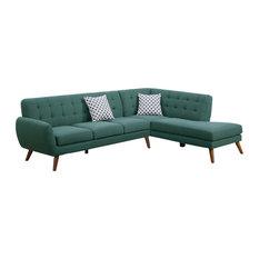 Infini - Modern Retro Sectional Sofa Laguna - Sectional Sofas  sc 1 st  Houzz : houzz sectionals - Sectionals, Sofas & Couches
