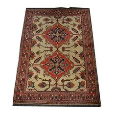 "Tribal Kargai Oriental Rug, 4'x5'10"""