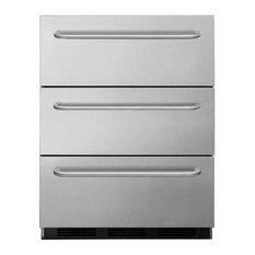 Commercial 3-Drawer, All-Refrigerator for Built-In Use SP6DSSTB7