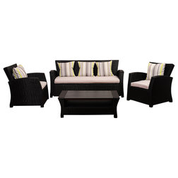 Contemporary Outdoor Lounge Sets by International Home Miami Corp