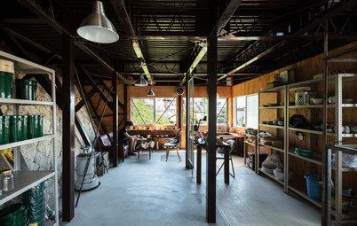 築50年の倉庫が、趣味のための場に。生まれかわった『崖のアジト』