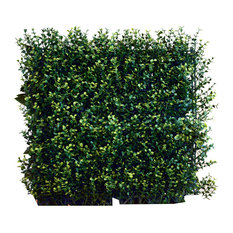 """Artificial Ficus Spring Wall Panels, Set of 4, 20""""x20"""""""