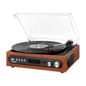 Victrola Bluetooth Record Player with Built in Speakers and 3-Speed Turntable