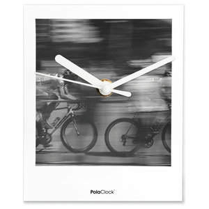 Pola Clock ''Wer ist Schneller'' Wall and Table Clock
