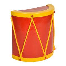 Heavy Duty Fiberglass Half Drum Stand