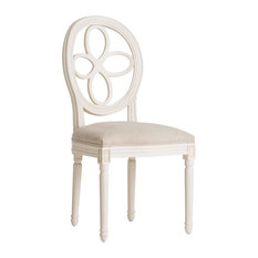 Stuhr Traditional Dining Chair, White