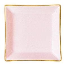 Pink Square Jewelry Dish