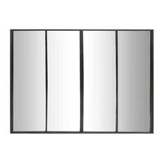 EMDE 4-Band Mirror, Black