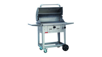 Bison Charcoal Grill Cart