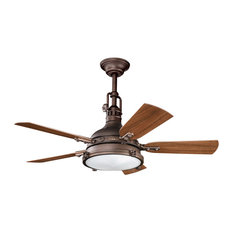 "44"" Hatteras Bay Patio Ceiling Fan, Weathered Copper Powder Coat"