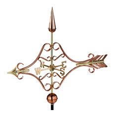Victorian Arrow Weathervane, Pure Copper