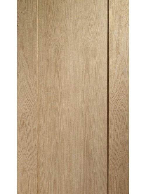 Contemporary Doors   Red Oak 1 Panel Doors   Interior Doors