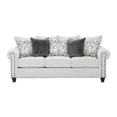 Simmons Upholstery Della Linen Sofa