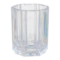 Regal Crystalline Acrylic Double Old Fashioned Glasses, 15 Ounces, Set of 4