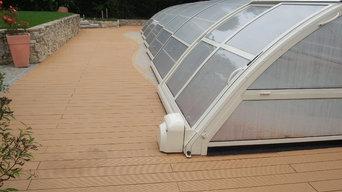 Giardino in legno composito