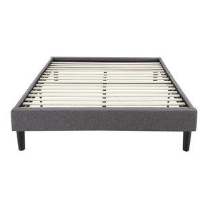 Bedder Base Folding Platform Bed Transitional Folding