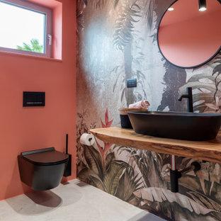 Foto di un bagno di servizio design