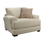 Jackson Furniture Ava Chair in a Half in Cashew 4498-01