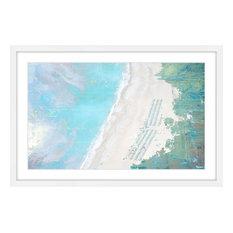 """Coastal Sand"" Framed Paper Print by Parvez Taj, 90x60 cm"